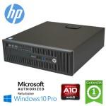 PC HP EliteDesk 705 G1 SFF AMD A10-6800B 4.0GHz 4Gb 500Gb DVD-RW Windows 10 Professional