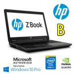 Mobile Workstation HP ZBOOK 15 G2 Core i7-4810MQ 16Gb 256Gb SSD 15.6' FHD  Quadro K2100M Win 10 Pro [Grade B]