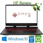 Notebook HP Omen 15-dc0008nl i7-8750H 16Gb 1Tb+256Gb 15.6' NVIDIA GeForce GTX 1060 6GB Gaming Windows 10 HOME