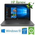 Notebook HP 15-da0048nl Intel Core i3-7020U 2.3GHz 8Gb 128Gb SSD 15.6' HD DVD-RW Windows 10 HOME