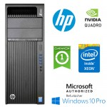 Workstation HP Z440 Xeon HEXA Core E5-1620 v3 3.5GHz 16Gb 512Gb SSD QUADRO K620 2Gb Windows 10 Pro
