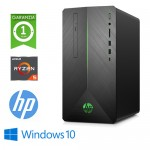 PC GAMING HP Pavilion 690-0003NL AMD RYZEN5-2600 3.4GHz 8Gb 1Tb + 128GB SSD GEFORCE GTX 1050 4GB Win 10 HOME