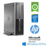 PC HP Compaq 8300 Elite Core i5-3470 3.2GHz 8Gb Ram 500Gb NO-ODD SFF Windows 10 Professional
