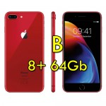Apple iPhone 8 Plus 64Gb Red A11 MQ8N2QL/A 5.5' Rosso Originale iOS 12 [Grade B]