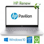 Notebook HP Pavilion 14-bf006nl i3-7100U 8Gb 128Gb 14' Windows 10 HOME