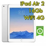 iPad Air 2 16Gb Argento WiFi Cellular 4G MH2V2LL/A 9.7' Retina Bluetooth Webcam Originale