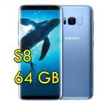 Smartphone Samsung Galaxy S8 SM-G950J SCV36 5.8' FHD 4G 64Gb 12MP Blue LINGUA ITALIANA [Versione Giapponese]