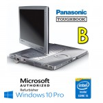 Notebook Panasonic Toughbook CF-C1 Core i5-2520M 4Gb 500Gb 12.1' Touchscreen Windows 10 Professional [Grade B]