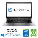 Notebook HP EliteBook Folio 1040 G1 Core i7-4600U 2.1GHz 8Gb 180Gb SSD 14' Windows 10 Professional