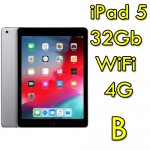 iPad 5 32Gb 9.7' A9 Wifi 4G Cellular Retina Bluetooth Webcam MP1J2TY/A [Grade B]