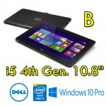 Tablet DELL Venue 11 Pro 7130 VPRO Core i5-4300Y 8Gb 256GB  Nero WiFi Bluetooth Windows 10 Pro [Grade B]