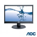 MONITOR AOC LCD LED 22 POLLICI WIDE 2250W 1920x1080 16:9 BLACK VGA DVI VESA