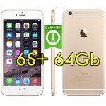 iPhone 6S Plus 64Gb Gold A9 MKUV2LL/A Oro 4G Wifi Bluetooth 5.5' 12MP