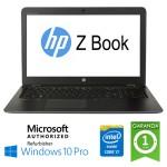 Mobile Workstation HP ZBOOK 15U G3 Core i7-6500U 16Gb 256Gb SSD 15.6' FHD Windows 10 Professional