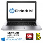 Notebook HP EliteBook 745 G3 AMD A10-8700B R6 8Gb 500Gb 14.1' HD Windows 10 Professional [Grade B]