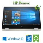 Notebook HP Pavilion x360 14-dh0004nl Intel Core i3-8145U 2.1GHz 8Gb 256Gb SSD 14' FHD Windows 10 HOME