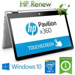 Notebook HP Pavilion Conv X36015-dq0000nl Core i3-8145U 2.1GHz 8Gb 256Gb SSD 15.6' FHD Windows 10 HOME