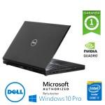 Mobile Workstation Dell Precision M4800 Core i7-4610M 16Gb 500Gb 15.6' Nvidia Quadro K1100M Windows 10 Pro