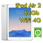 iPad Air 2 64Gb Silver WiFi Cellular 4G 9.7' Retina Bluetooth Webcam (Seconda Generazione) MGHY2TY/A