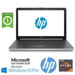 Notebook HP 15-db0011nl Ryzen3-2200U 2.5GHz 8Gb 500Gb 15.6' HD DVD-RW Windows 10 Professional