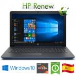 HP 15-db1018ns AMD RAM8Gb SSD512Gb 15.6' Win 10 Home (Reacondicionado) ES 7VL85EAR#ABE