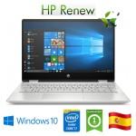 Notebook HP 14-dh1005ns i7-10510U 8Gb 512Gb SSD 14' Nvidia GeForce MX250 2GB Win 10 HOME [LINGUA SPAGNOLA]