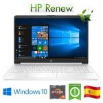 Notebook HP 15s-eq0015ns RYZEN7-3700U 2.3GHz 8Gb 512Gb SSD 15.6' FHD LED Win 10 HOME [LINGUA SPAGNOLA]