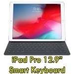 Tastiera per Apple iPad pro 2 MNKT2T/A QWERTY Nero Smart Connector