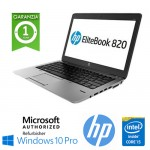 Notebook HP EliteBook 820 G2 Core i5-5300U 8Gb 180Gb SSD 12.1' HD AG LED Windows 10 Professional Leggero