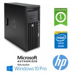 Workstation HP Z230 E3-1225 V3 3.2GHz 8Gb Ram 500Gb DVD-RW Nvidia Quadro NVS310 1Gb Windows 10 Professional