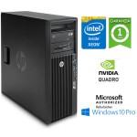 Workstation HP Z420 Xeon Quad Core E5-1620 V2 3.7GHz 16Gb 500Gb DVD-RW Nvidia Quadro K600 1Gb Windows 10 Pro.