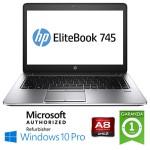 Notebook HP EliteBook 745 G3 AMD A8-8600B R6 8Gb 256Gb SSD 14.1' HD Windows 10 Professional