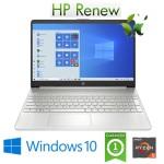 Notebook HP 15s-eq0025nl Ryzen5-3500U 8Gb 256Gb SSD 15.6' FHD LED Windows 10 HOME