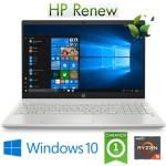 Notebook HP Pavilion 15-cw1085nl Ryzen5-3500U 2.1GHz 8Gb 512Gb SSD 15.6' FHD LED Windows 10 HOME