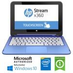 Notebook HP Stream 11-p000nl Intel Celeron N2840 2Gb 32Gb SSD 12' HD Windows 10 HOME