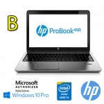 Notebook HP ProBook 450 G2 Core i5-4210U 1.7GHz 8Gb 5000Gb 15.6' HD DVD-RW Windows 10 Pro [GRADE B]