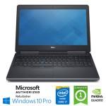 Mobile Workstation Dell Precision 7510 Core i7-6820HQ 16Gb 512Gb 15.6' NVIDIA Quadro M1000M Windows 10 Pro