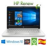 Notebook HP 14-dk0031ns RYZEN5-3500U 2.1GHz 8Gb 512Gb SSD 14' FHD LED Windows 10 HOME [LINGUA SPAGNOLA]