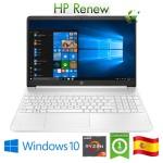 Notebook HP 15s-eq1021ns RYZEN3-3250U 2.6GHz 8Gb 256Gb 15.6' HD LED Windows 10 HOME [LINGUA SPAGNOLA]