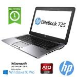Notebook HP Elitebook 725 G2 A8 PRO-7150B 2.0GHz 8Gb 256Gb SSD 12.5' Windows 10 Professional