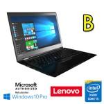 Notebook Lenovo Thinkpad X1 Carbon 4TH Core i5-6300U 2.4GHz 8Gb Ram 240Gb SSD 14' Windows 10 Pro [Grade B]