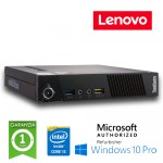 Pc Lenovo ThinkCentre M72e Tiny Core i5-3470T 2.9GHz 4Gb 128Gb SSD Windows 10 Professional