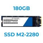Hard Disk Per Notebook 180Gb SSD SATA M2 - 2280 Varie Marche