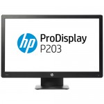 Monitor HP ProDisplay P203 20 Pollici LED 1600 x 900 VGA Display Port Black