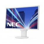 Monitor NEC MultiSync EA223WM 22 Pollici LED 1680 x 1050 VGA Display Port DVI White