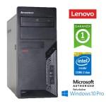 PC Lenovo ThinkCentre M58P TOWER Core 2 Duo E8400 3.0GHz 8Gb Ram 500Gb DVD-RW Windows 10 Professional