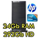 Server HP Proliant ML350 G6 Xeon Hexa Core X5650 2.66GHz 24Gb Ram 292Gb Tower 2 PSU Smart Array P410i