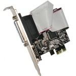 Adattatore PCI-Express X1 a porta PARALLELA nuovo