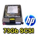 Hard Disk per Server HP 72.8 GB UW320 15k SCSI per Proliant DL380 ML BL 412751-014