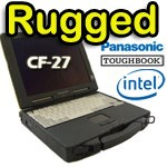 Panasonic Toughbook Rugged CF-27 PII300Mhz 128Mb 6Gb Modem GSM DVD SERIALE